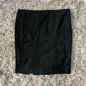 Bebe Black Pencil Skirt with Slits